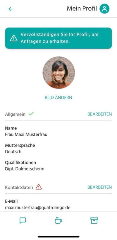 QuatroLingo-App_Profil_allgemein